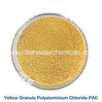 Buy cheap Roller Yellow Polyaluminium Chloride Powder flocculant polymer pac 30% For Waste Water Treatment from wholesalers