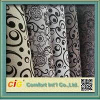 Buy cheap 145cm Wide Funitures Sofa Upholstery Fabric , Flock Velvet Upholstery Fabric product