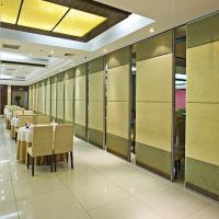 Buy cheap Decorative Sliding Door Folding Partition Walls with Aluminium Frame for Banquet Hall from wholesalers