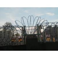 Buy cheap Hot Dipped Galvanized Concertina Razor Barbed Wire Ribbion Fence CBT - 60 from wholesalers
