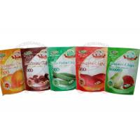 Buy cheap Zipper Resealable Stand Up PouchesFor Fruit Chips And Cooked Food from wholesalers
