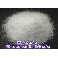 Buy cheap Nutritional Supplement Melatonin / Melatonine CAS 73-31-4 Anti-Aging powder from wholesalers