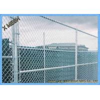 Buy cheap 9 Gauge Aluminum Coated Steel Chain Link Fence Privacy Fabric for Commercial residential from wholesalers
