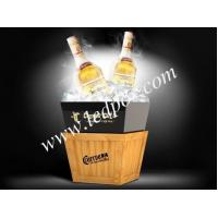 Buy cheap LED Luminous Acrylic Wooden Buckets from wholesalers