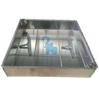 Silver Color Metal Drain Grate Water Drain Box For Construction Ground