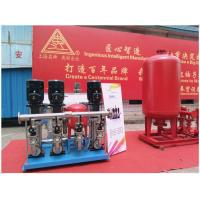 Buy cheap Horizontal Orientation Diaphragm Pressurized Water Tank Excellent Sealability product