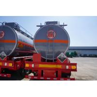 Buy cheap hot sale tri axle diesel fuel tanker trailer CIMC manufacturers for sale from wholesalers