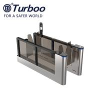 Quality High Speed Facial Recognition Swing Barrier Turnstile Gate For Airport And Customs Checking for sale