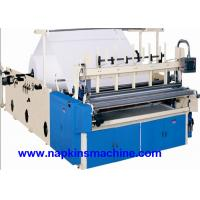 Buy cheap Recycled Toilet Paper Making Machine With Color Printing And Rewinding Machine from wholesalers