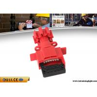 Buy cheap Durable Valve Lockout Tagout , Red Universal Gas Valve Lockout Device from wholesalers