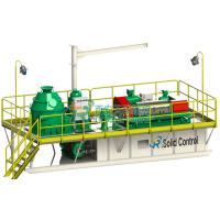 Buy cheap Skid Mounted Mud Tanks Drilling Waste Management System , High Speed Centrifuge Mud System from wholesalers