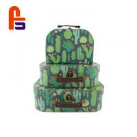 Buy cheap Large Storage  Gift  For Treasure Chest Packaging Cardboard Suitcase Box from wholesalers