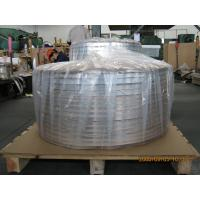 Buy cheap Thick Aluminum Strips , Sheet Metal Strips For Cable Shielding And Armor Jacket from wholesalers