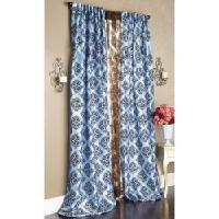 Buy cheap Flocked Faux Silk Or Sheer Voile Panel from wholesalers