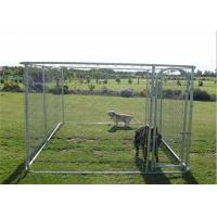 Buy cheap Modern Design Big Dog Enclosures Outdoor Dog Kennel With Roof UV Proof from wholesalers