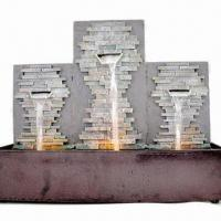 Buy cheap Indoor Battery-operated Tabletop Fountain with LED Light from wholesalers