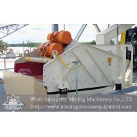 Buy cheap Mining Process Dewatering Vibrating Screen / Shaker High Frequency from wholesalers