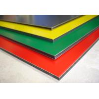 Buy cheap Polyester Paint Aluminum Sign Panels Multi Colors With High Peeling Strength from wholesalers