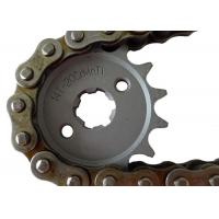 Suzuki Motorcycle Sprockets And Chains 1045 1023 Steel Material , Not Easily Broken