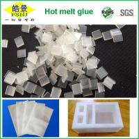 Buy cheap Non - Toxic Clear Psa Pressure Sensitive Adhesive Chips For Epe Foam from Wholesalers