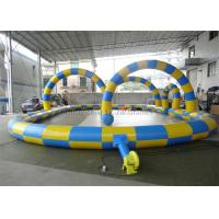 Buy cheap Inflatable Go Kart Track For Hamster Zorb Ball / Rollerball Zorbing Game from wholesalers