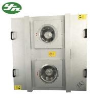 Buy cheap Class 100 FFU Fan Filter Unit Large Air Volume Galvanized Steel Material AC 220V 50 Hz from wholesalers
