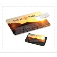 Buy cheap Credit Card Shaped Usb Flash Drive USB 3.0 3 Year Warranty Color Customized from wholesalers