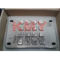 Buy cheap PCI 2.X Compliant Stainless Steel Keypad Encrypted Pinpad Customized Layout from wholesalers