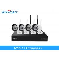 Buy cheap 2.0 Megapixel Bullet Wireless IP Camera System , 4 Camera Wireless Security System from wholesalers
