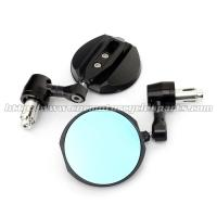 Buy cheap CNC Aluminum Motorcycle Rear View Mirrors / Handle Bar End Mirror 2 X 10mm / 2 X 8mm Bolts from wholesalers