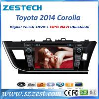 Buy cheap ZESTECH Factory oem car multimedia for Toyota corolla 2014 right hand driver car dvd gps in-dash stereos radio from wholesalers