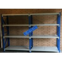 Buy cheap Pallet Steel Storage Shelves / Light Duty Double Deep Pallet Racking from wholesalers