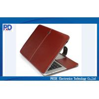 Buy cheap Luxury Faux Leather Macbook Laptop Case , Macbook Air / Pro Protective Cover from wholesalers