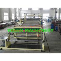 Buy cheap 2000mm Width Plastic Sheet Extrusion Line , PVC Sheet Extrusion Line from wholesalers
