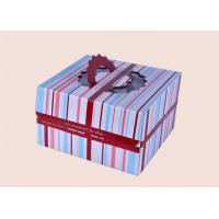 China Portable Paperboard Cake Box , Pastry Box for Cake Shop Take Out Service on sale