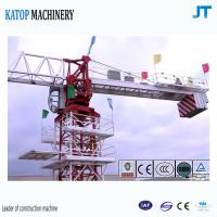 Buy cheap Topless tower crane 6t load TC5610 falt top tower crane for sale from wholesalers
