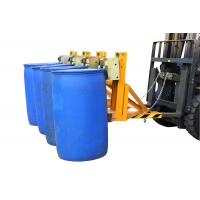 Buy cheap Four Drums Lifting Once Forklift Attachments Drum Handling for Library , Restaurant from wholesalers