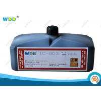 Buy cheap Large Character High Adhesion Industrial Ink Coding Fluid Non Halogen from wholesalers