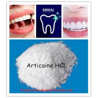 Buy cheap Local Anesthetic Articaine Hydrochloride Anti Estrogen Steroids for Dental Local Anesthetic from wholesalers