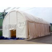 Buy cheap Puncture - Proof Inflatable Clear Tent Made With 0.9mm PVC Tarpaulin , 12.7mL*5.7mW*3.07mH from wholesalers