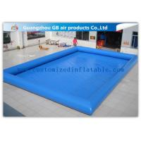 Buy cheap 12 * 10m Summer Large Inflatable Swimming Pool For Adults Customized product