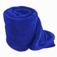 Buy cheap Wearable Solid Color Polar Custom Fleece Blankets Wholesale Full Size / King Size from wholesalers