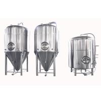 Buy cheap Stainless Steel Conical Fermentation Tank , Mirror Polish Beer Fermentation Tank from wholesalers