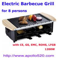 Buy cheap Electric Grills 1200W from wholesalers