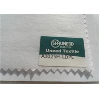 Buy cheap 100% Polyester Chemical Bonded Interlining Non Woven Fabric With Scatter Coating from wholesalers