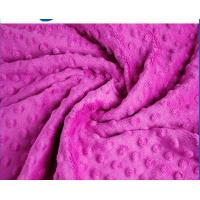 Buy cheap Professional Warm Minky Dot Fabric Flame Retardant Customized Width from wholesalers