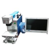Buy cheap Industrial Laser Metal Marking Machine Alphanumeric Info FLMM-B01 Blue Color from wholesalers