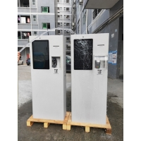 Buy cheap 23.8inch Outdoor Electronic Self Service Mobile Payment Machine Terminal Kiosk With POS System Bar Code Scanner product