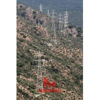 Buy cheap 115KV double circuit tangent transmission tower from wholesalers