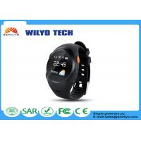 Buy cheap S888w Adult bluetooth wrist watch android 1.2 inch OLED SMS SOS Support GPS from wholesalers